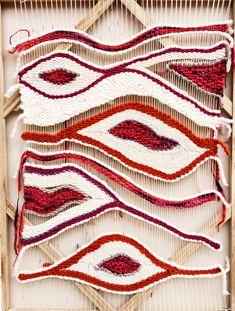 giant organic shape weaving