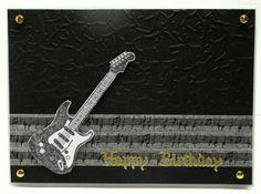 Jenfa Cards: Guitar Birthday