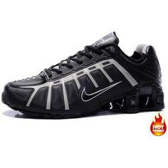32ff143ff7d9 www.asneakers4u.com Mens Nike Shox NZ 3 OLeven Black Grey Nike Shox Nz