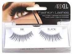 Ardell Fashion Lashes 116 Black (Case of 6) ** See this great product. (This is an Amazon affiliate link)