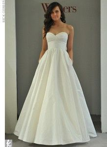"""I love this dress its a ball gown and its simple perfect for the """"backyard"""" type wedding i want some day :))"""