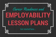 A Guide to Career Readiness and Employability Skills Lesson Plans Education education quest jobs High School Counseling, Career Counseling, Education College, Business Education Classroom, School Counselor, Special Education, Education Jobs, Elementary Counseling, Primary Education