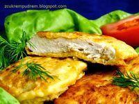 Kurczak w serowej panierce Spanakopita, Chicken, Meat, Ethnic Recipes, Cubs