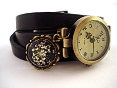 WrapWatch with Real Dried Flowers  working di VillaSorgenfrei