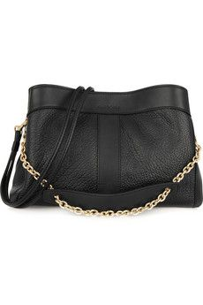See by Chloé Beki textured-leather shoulder bag | NET-A-PORTER