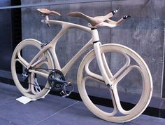 Wodden Bike from Japan