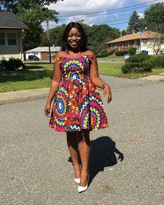 kitenge designs Unleash Your Style In These Jaw-Dropping Ankara Styles - Wedding Digest Naija African Fashion Ankara, African Fashion Designers, Latest African Fashion Dresses, African Print Fashion, Ghanaian Fashion, Short African Dresses, Short Gowns, African Print Dresses, African Prints