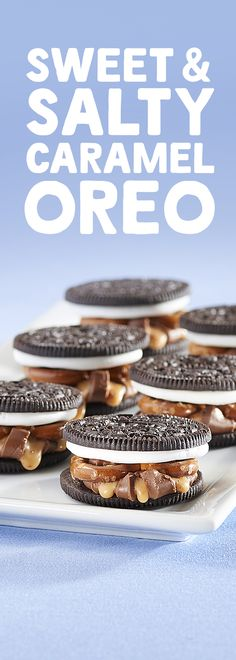 A delicious treat for everyone!   Whether it's football Sunday or a spontaneous get together with friends, this sweet and salty snack is sure to please.  Easily portable, stackable, and definitely snackable, this Oreo treat is easy to make with only three ingredients and 15 minutes needed.  Touchdown!