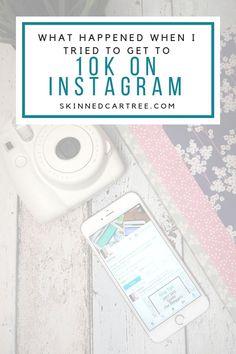 How to get to 10k Instagram followers  #skinnedcartree    #SocialMedia #Instagram #InstagramFollowers #SocialMediaFake Instagram Feed, Tips Instagram, Instagram Marketing Tips, Instagram Posts, Social Media Tips, Social Media Marketing, Digital Marketing, Affiliate Marketing, Marketing Strategies