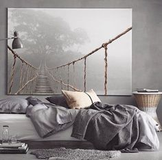 That picture..that room! Cosy up #mysterious #winterwarmth via // @interiormilk