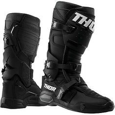 NEW  WHITE Thor Blitz Adult Mens MX Sole Motocross Offroad  Boots ALL SIZES