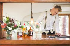 Tom Collins Caravan Bar, Tom Collins is a charming vintage caravan lovingly… Wedding Food Catering, Catering Van, Catering Ideas, Caravan Bar, Caravan Ideas, Caravan Renovation, Caravan Makeover, Tom Collins, Pop Up Bar