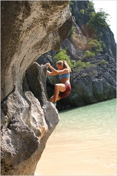 Rock Climbing in Cat ba - Halong Bay