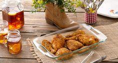 Peppery Buttermilk Oven-Fried Chicken recipe