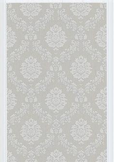 Costello Wallpaper - Gray/White - contemporary - wallpaper - Design Public