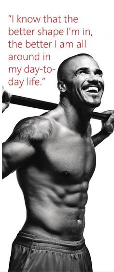 if shemar moore isn't inspiration, I don't know what is
