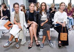 Front Row at Edun Spring-Summer 2016 Fashion Show  #NYFW #EDUN #RTW #SS16 #LVMH