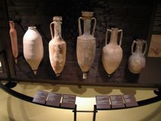 A collection of Greek and Roman Amphorae