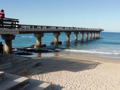 Port Elizabeth - the peer at Hobie Beach in the Eastern Cape of South Africa wanaabeehere Route 67, Port Elizabeth South Africa, Reptile Park, King Beach, Stuff To Do, Things To Do, Rock Pools, Main Attraction, Game Reserve