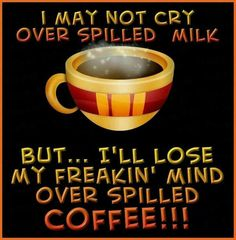 Spilled coffee ☕️