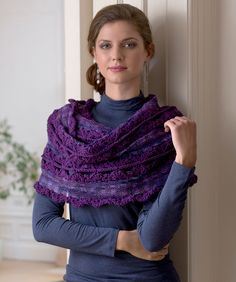 Wrap and Go Shawl--looks easy and fast, great to keep at the office for when the temp is too low