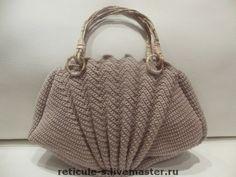 Crochet Handbags, Crochet Purses, Crochet Bags, Crochet Designs, Crochet Patterns, Handbag Tutorial, Creative Bag, Diy Bags Purses, Crochet Coat
