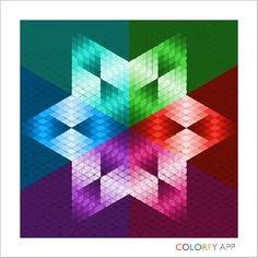 Multicolored Star