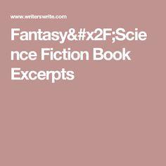 Fantasy/Science Fiction Book Excerpts