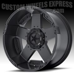 KMC XD811 RS2, 24x12 without inserts. - KMC XD Series XD811 RS2 Rockstar II Satin Black Custom Wheels Rims
