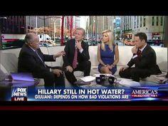 RUDY GIULIANI FULL INTERVIEW ON FOX & FRIENDS - VIDEO - FOX NEWS (11-10-...