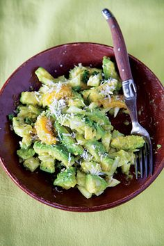 Creamy avocado is paired with mango and bright citrus in this Senegalese salad.
