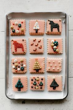 """glazed sugar cookies with buttercream """"embroidery""""   my name is yeh   Bloglovin'"""