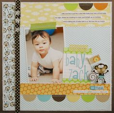 Baby Zack *NEW BELLA BLVD* - Scrapbook.com