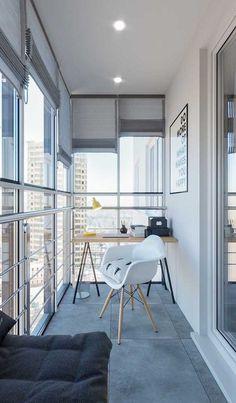 Mar 2020 - Minimalist Balcony Ideas: A New Trend - Unique Balcony & Garden Decoration and Easy DIY Ideas Decor, Home Office Design, House Design, Small Space Interior Design, Interior Design, Home Decor, House Interior, Apartment Balcony Decorating, Apartment Decor