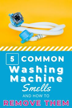 When your washing machine smells, it can be detrimental to your laundry day, because what's laundry day without the smell of clean laundry? We're sharing 5 common stink sources and how to fix them. Laundry Storage, Diy Storage, Washing Machine Smell, Doing Laundry, Cleaning, Home Cleaning