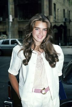 Young Brooke Shields Hair | Style Inspiration: Brooke Shields