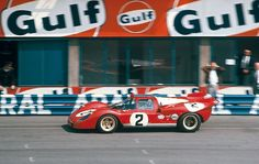 Factory Ferrari 512S at Monza 1970