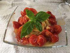 Spaghetti pomodorini e 'nduja #'nduja #spaghettipomodorini #pomodorini
