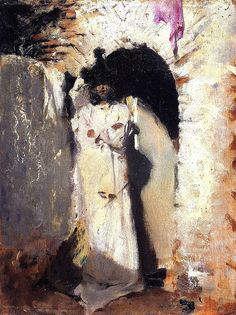 A Spanish Figure (also known as Landscape with Hills) John Singer Sargent - circa 1879-1880 by BoFransson, via Flickr