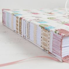 Filmed a tutorial on how to sew endbands on this book a couple of weeks ago, will be going up on my blog soon! dani fox bookbinding