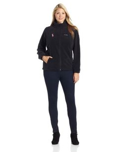 $65.00 you can get Columbia Women's Big Tested Tough In Pink Benton Springs Full Zip Jacket, Black, 2X#womanspringjacketplussize