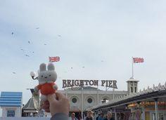 Nijntje op de pier van Brighton