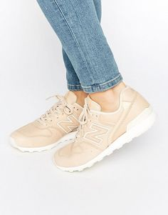 New Balance   New Balance 996 Trainers In Nude Leather