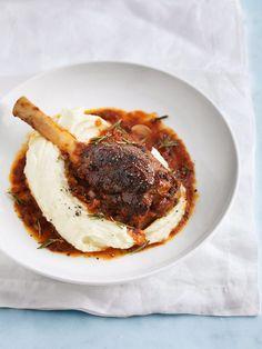 Rosemary Braised Lamb Shanks | Donna Hay