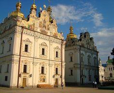 Dormition Cathedral at Pechersk Lavra, Kiev, Ukraine