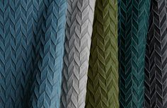 This new #fabric #design was inspired by #origami.