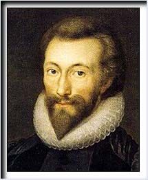 JOHN DONNE - No man is an island,/  Entire of itself./  Each is a piece of the continent,/  A part of the main./  If a clod be washed away by the sea,/  Europe is the less./  As well as if a promontory were./  As well as if a manner of thine own/  Or of thine friend's were./  Each man's death diminishes me,/  For I am involved in mankind./  Therefore, send not to know/  For whom the bell tolls,/  It tolls for thee. (For Whom the Bell Tolls)