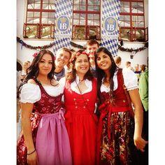Willkommen zum Oktoberfest!  #oktoberfest2015 #oktoberfest #prost #munchen #dirndl