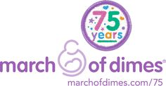 March of Dimes Anniversary Logo. March Of Dimes, Anniversary Logo, Good Cause, Charity, Challenges, July 31, Events, Babies, Babys