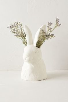 Cholet hollow rabbit vase